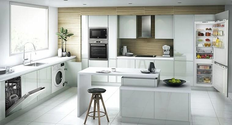 Integrated appliances - Fridge freezer dishwasher - PAT