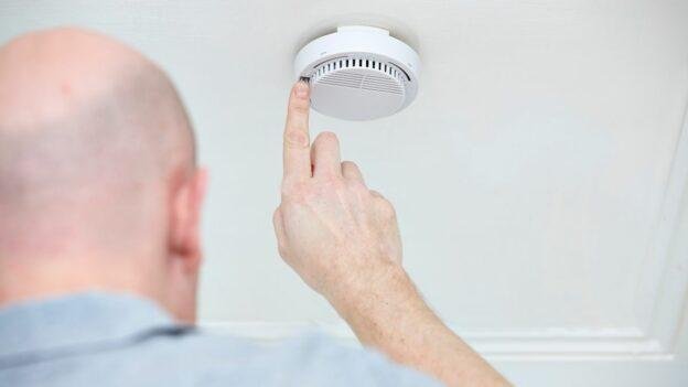 Smoke Detectors Interconnected